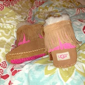 Like new infant UGGS. Only worn a few times